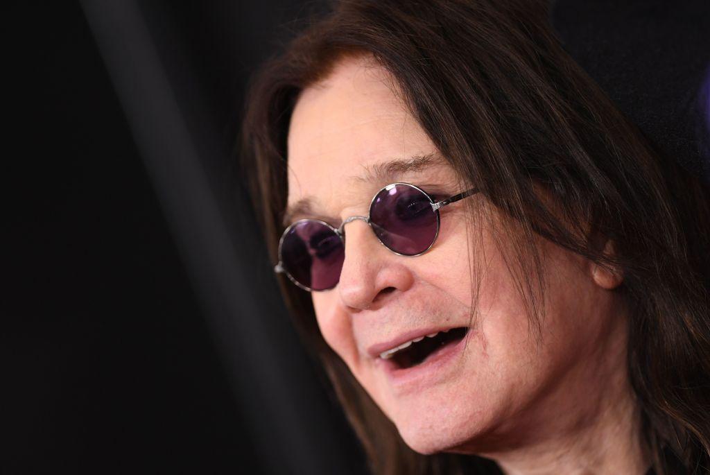 British singer-songwriter Ozzy Osbourne arrives for the 62nd Annual Grammy Awards