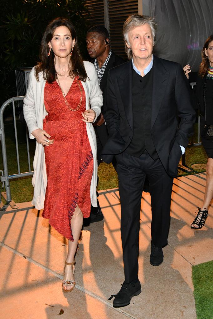 Paul McCartney and Nancy Shevell