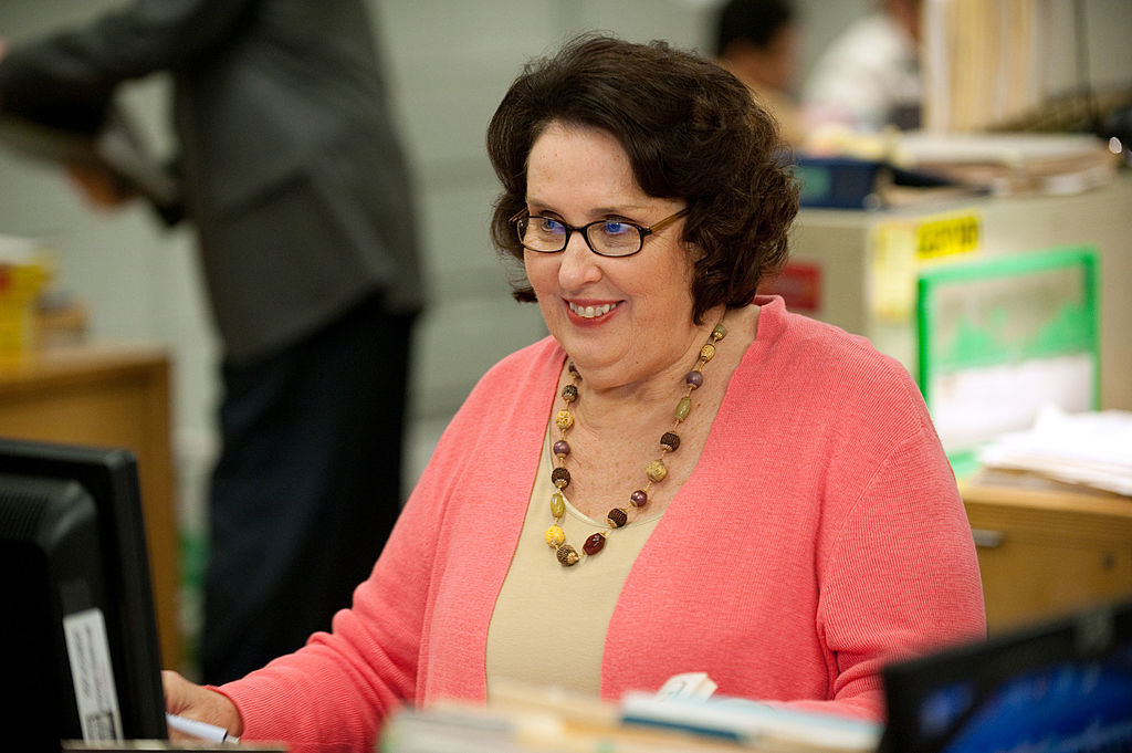 Phyllis Smith as Phyllis on 'The Office.'