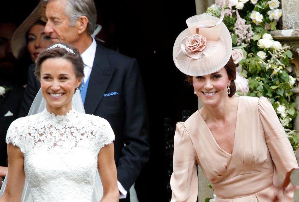 Pippa Middleton and Kate Middleton