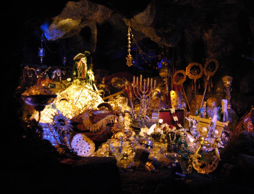 'Pirates of the Caribbean' Ride at Disneyland