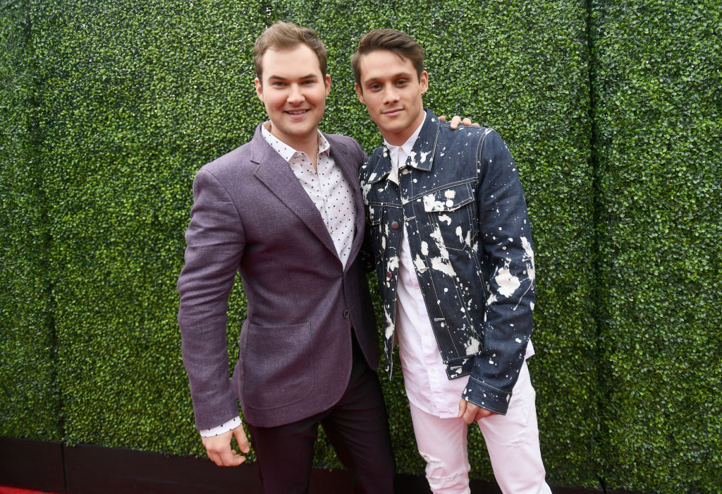 Justin Prentice and Timothy Granaderos of '13 Reasons Why'