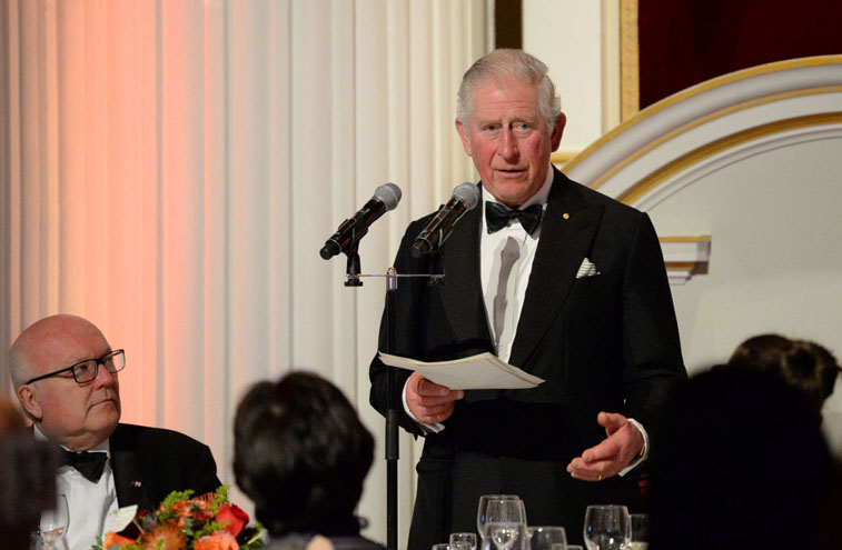 Prince Charles is helping an industry that is being threatened by the pandemic.