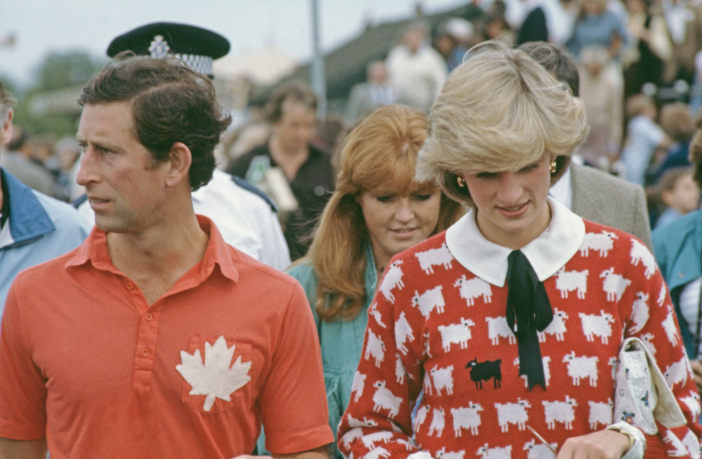 Prince Charles, Sarah Ferguson, and Princess Diana