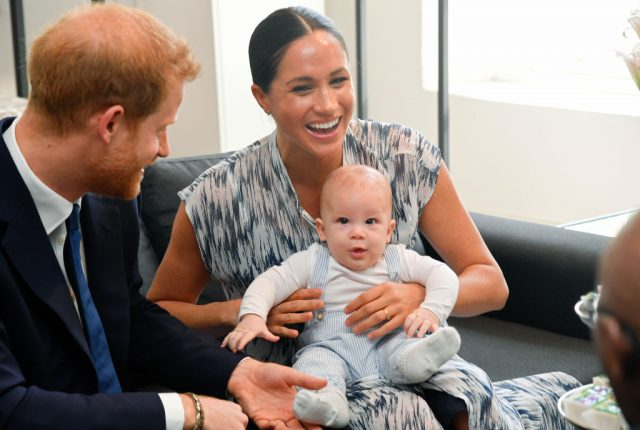 Prince Harry, Meghan Markle, and Archie Harrison Mountbatten-Windsor in South Africa