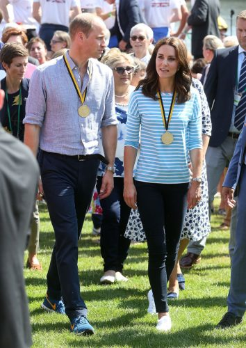 Prince William and Kate Middleton in Germany, 2017