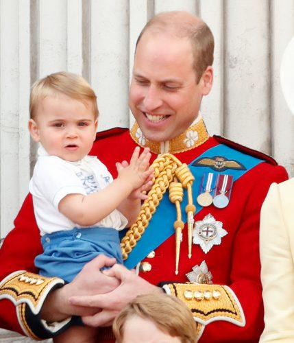 Prince William and Prince Louis at 2019 Trooping the Colour