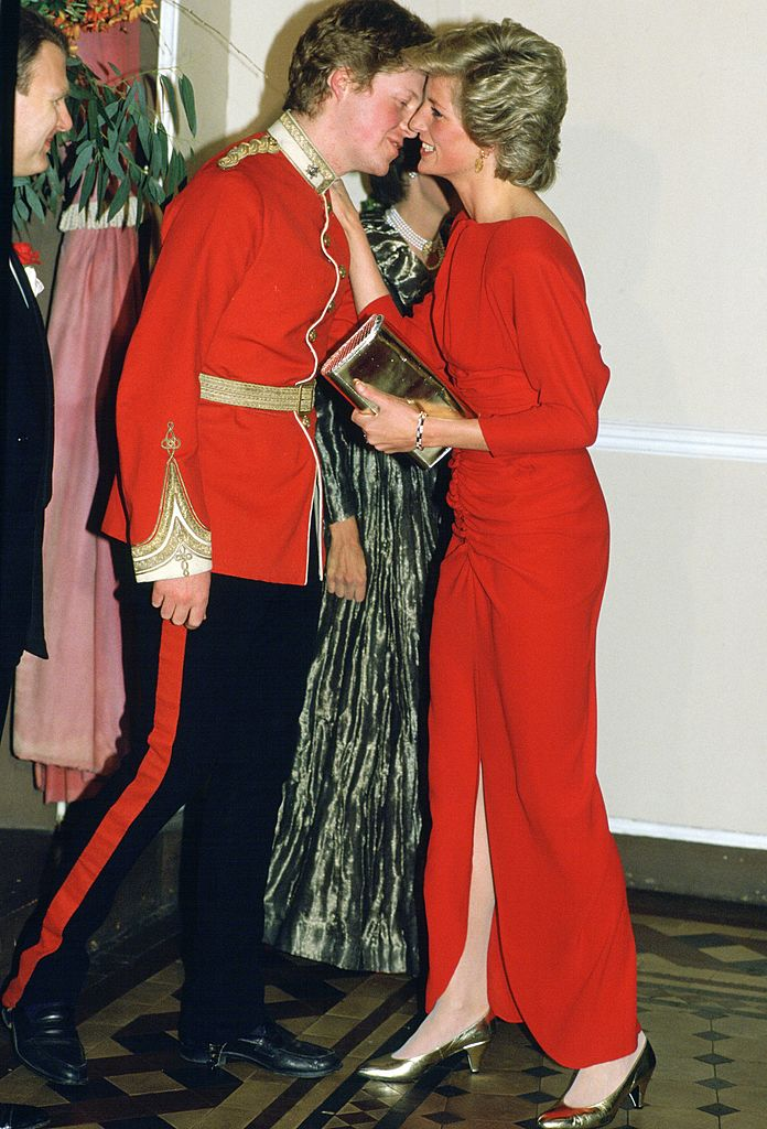 Princess Diana and her brother, her brother, Earl Charles Spencer