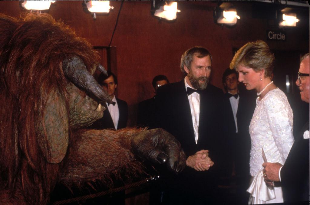 Princess Diana meets Ludo
