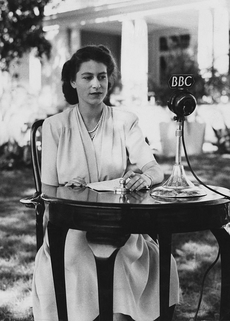 Princess Elizabeth's 21st birthday broadcast