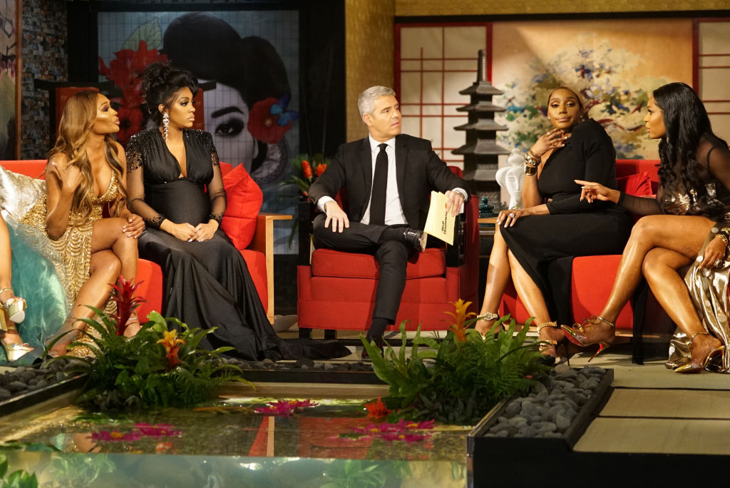 Cynthia Bailey, Porsha Williams, Andy Cohen, NeNe Leakes, Marlo Hampton from 'RHOA'