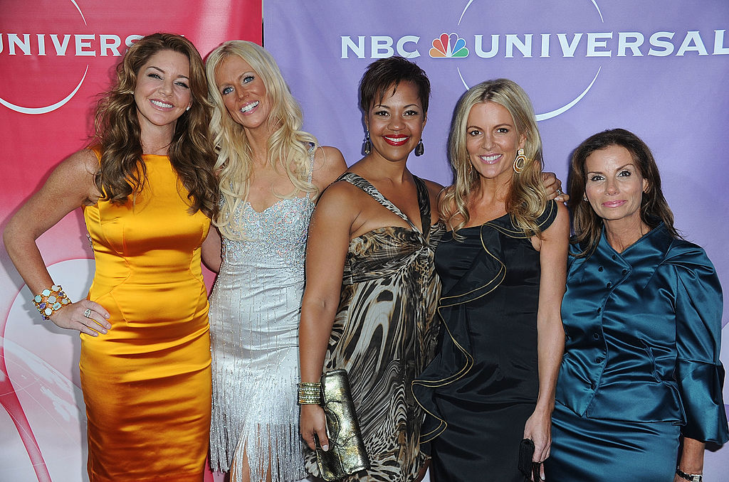 Cast members of The Real Housewives of DC Mary Amos; Michaele Salahi; Stacie Scott Turner Cat Ommanney;Lynda Erkiletian