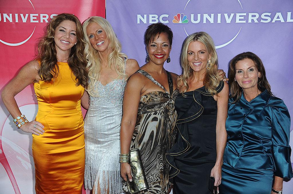 Cast members of The Real Housewives of DC Mary Amos; Michaele Salahi; Stacie Scott Turner Cat Ommanney;Lynda Erkiletian