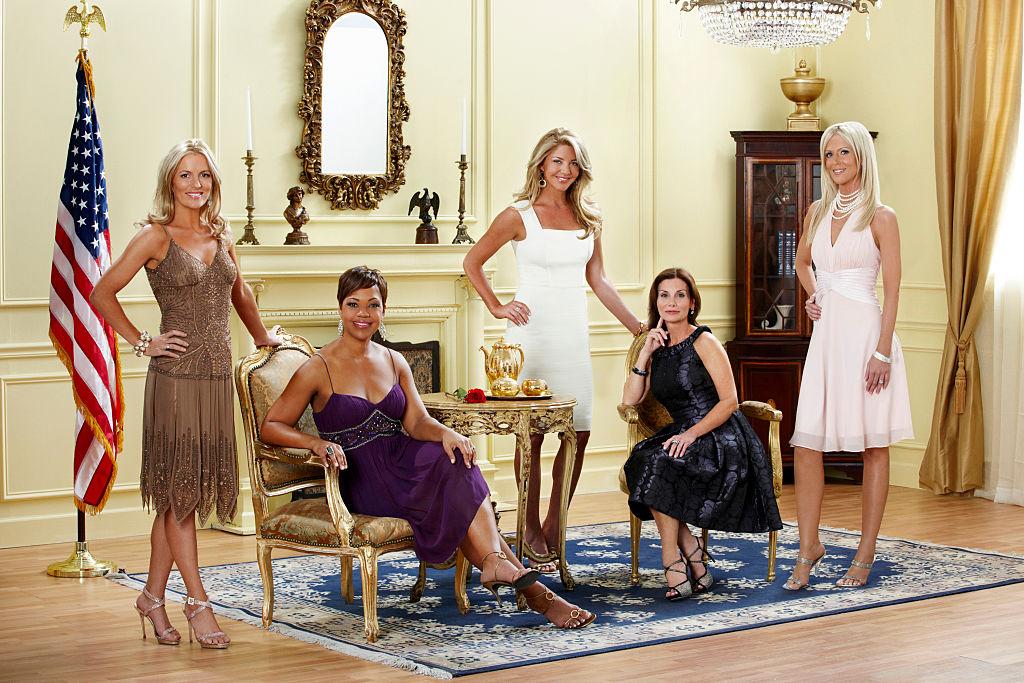 Catherine Ommanney, Stacie Turner, Mary Amons, Lynda Erkiletian, Michaele Salahi from 'RHODC'