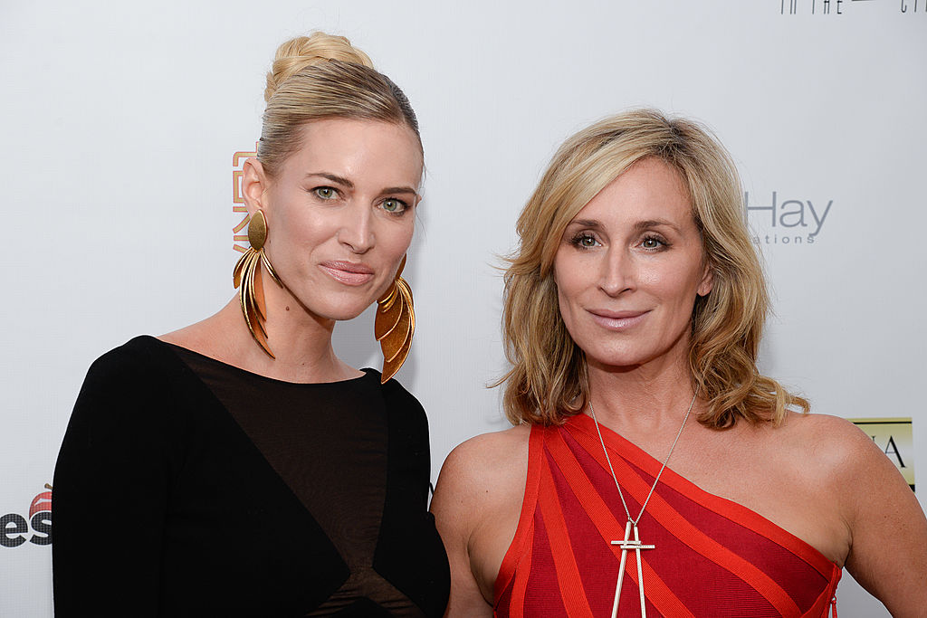Kristen Taekman and Sonja Morgan