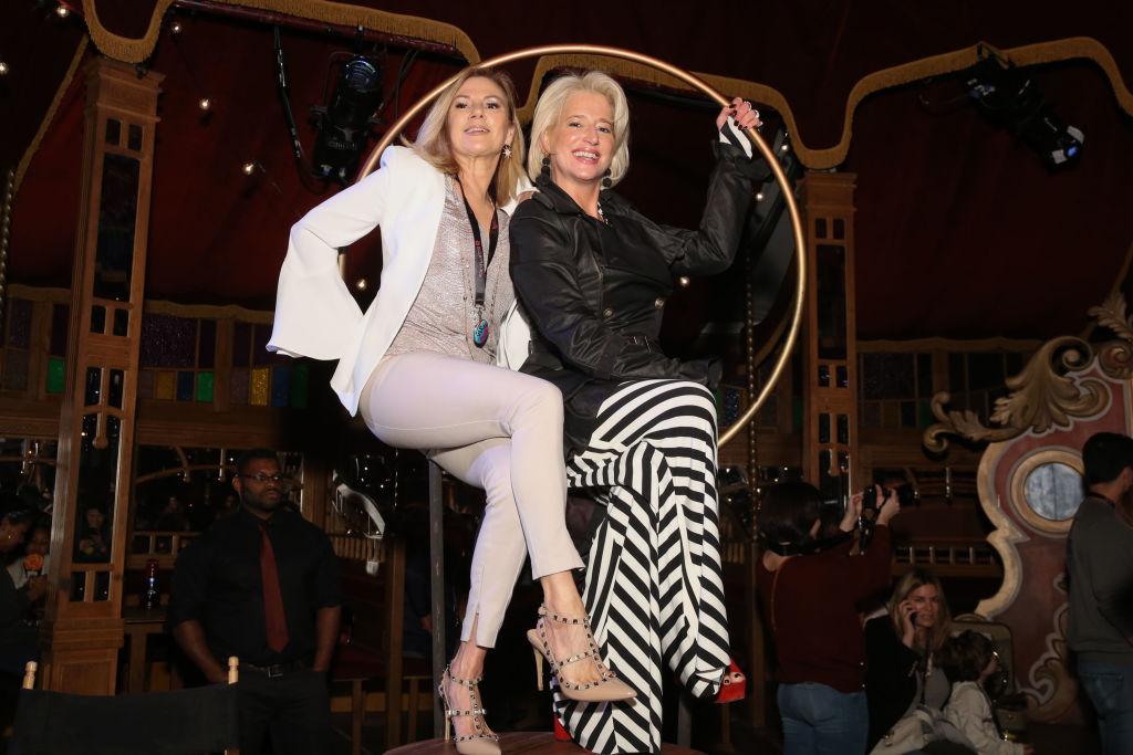 Ramona Singer and Dorinda Medley from 'RHONY'
