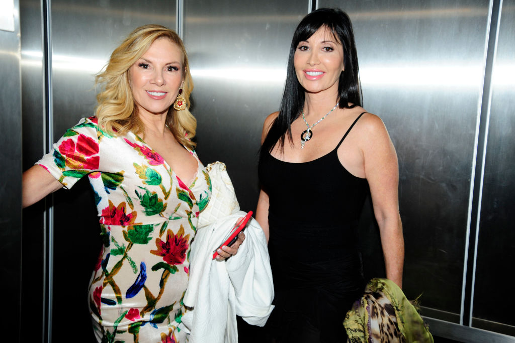 Ramona Singer and Elyse Slaine attend Sonja by Sonja Morgan Fashion Show