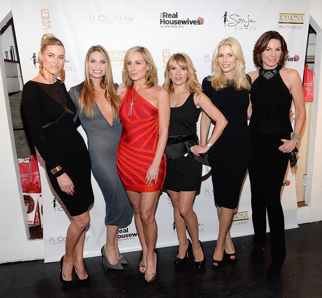 Kristen Taekman, Carole Radziwill, Ramona Singer, Sonja Morgan, Aviva Drescher, Heather Thomson and Countess LuAnn De Lesseps