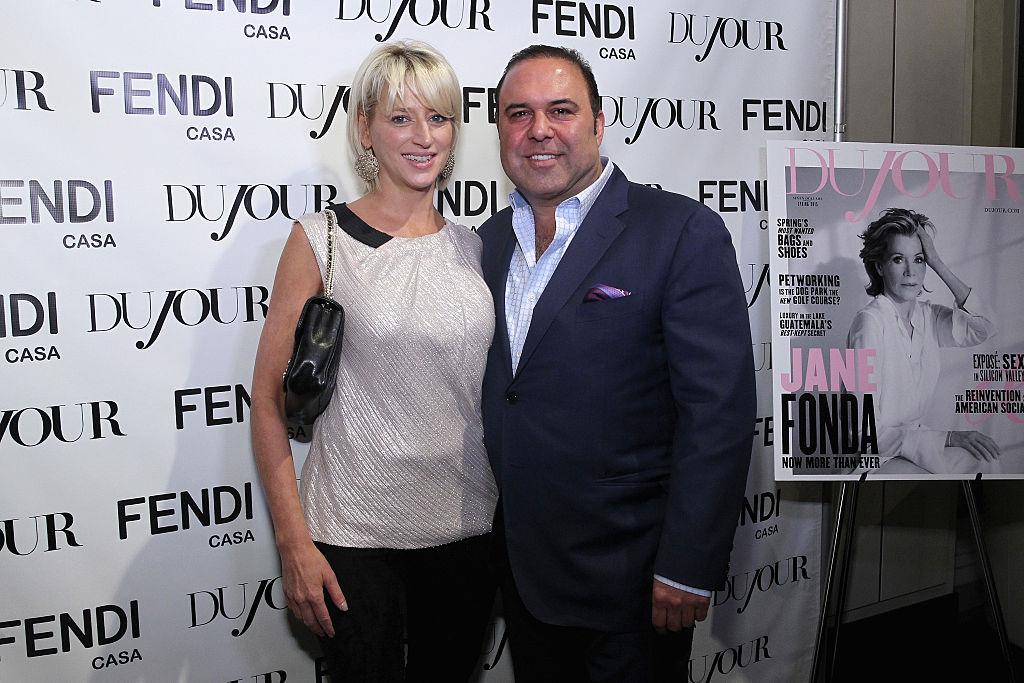 Dorinda Medley and John Mahdessian