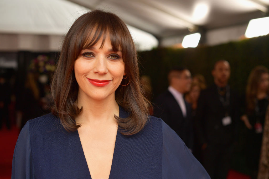 Rashida Jones attends the 61st Annual GRAMMY Awards