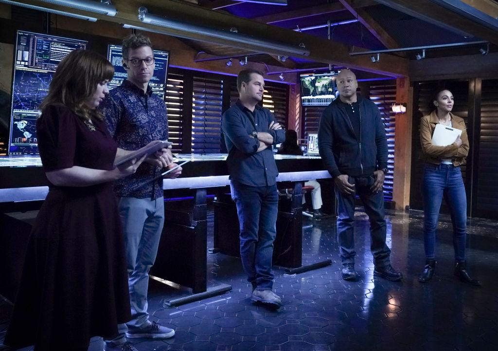 Renee Felice Smith and the NCIS Los Angeles cast | Monty Brinton/CBS via Getty Images