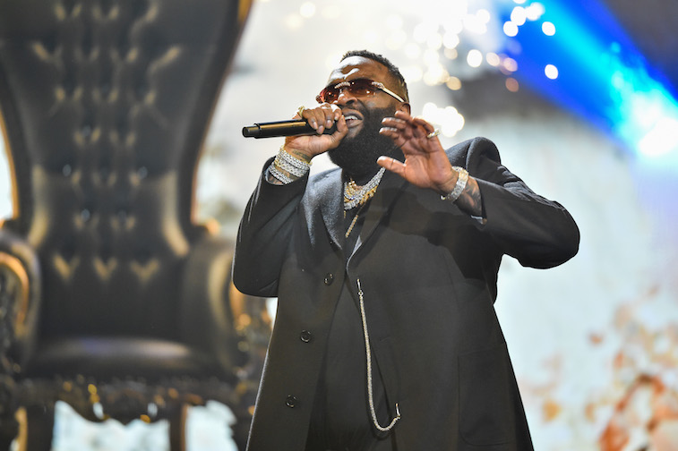 Rick Ross performs onstage
