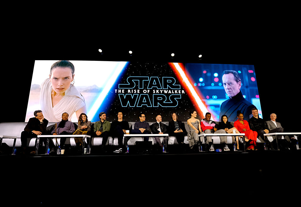 Cast and crew of 'Star Wars: The Rise of Skywalker'