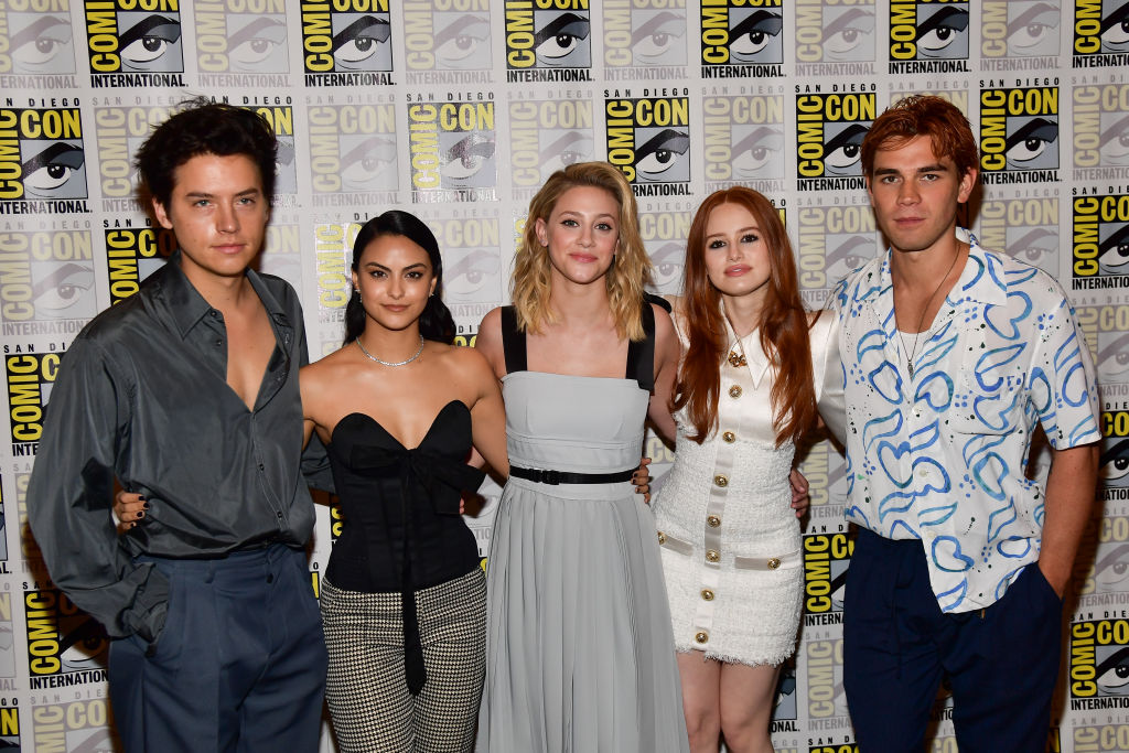 Cole Sprouse, Camila Mendes, Lili Reinhart, Madelaine Petsch, and KJ Apa of 'Riverdale'