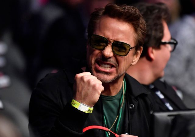 Robert Downey Jr. at the UFC 248 event