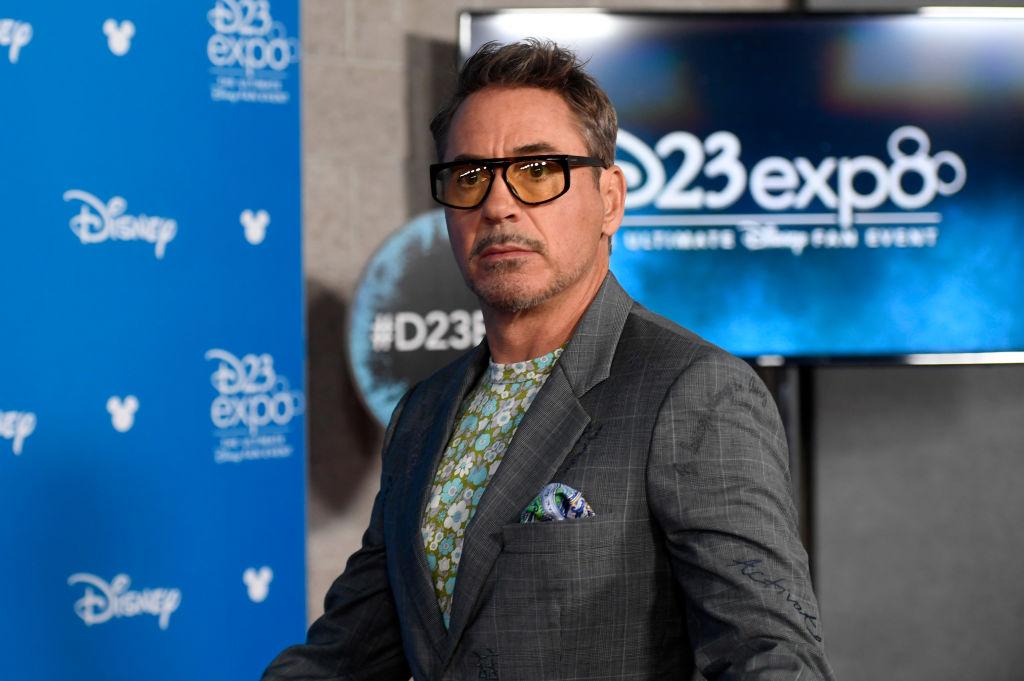 Robert Downey Jr. attends D23 Disney Legends even