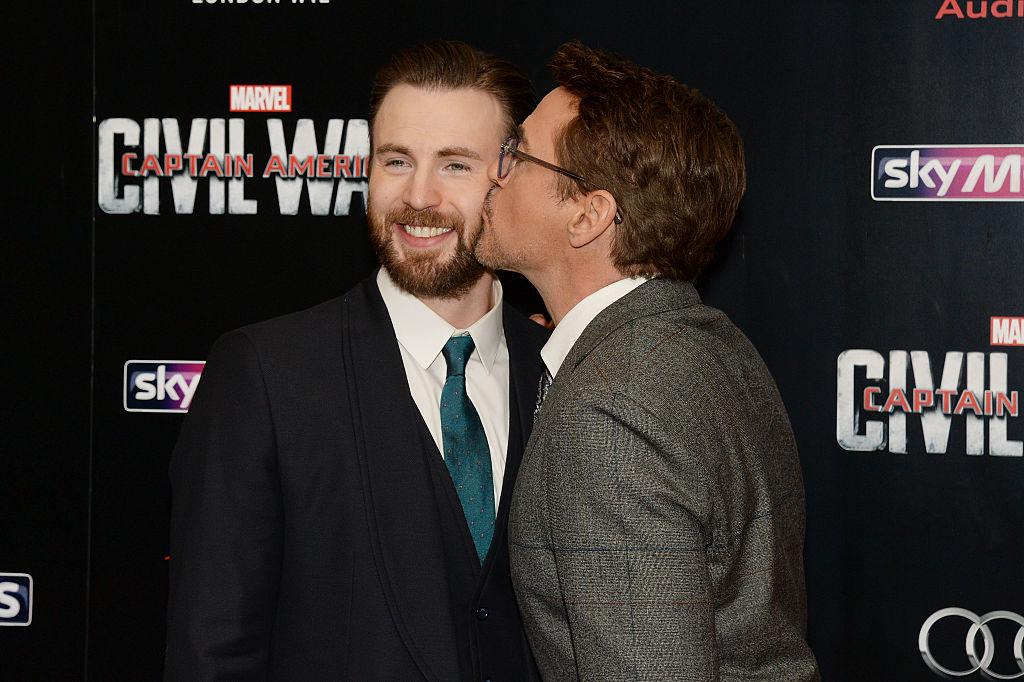Robert Downey Jr. and Chris Evans MCU