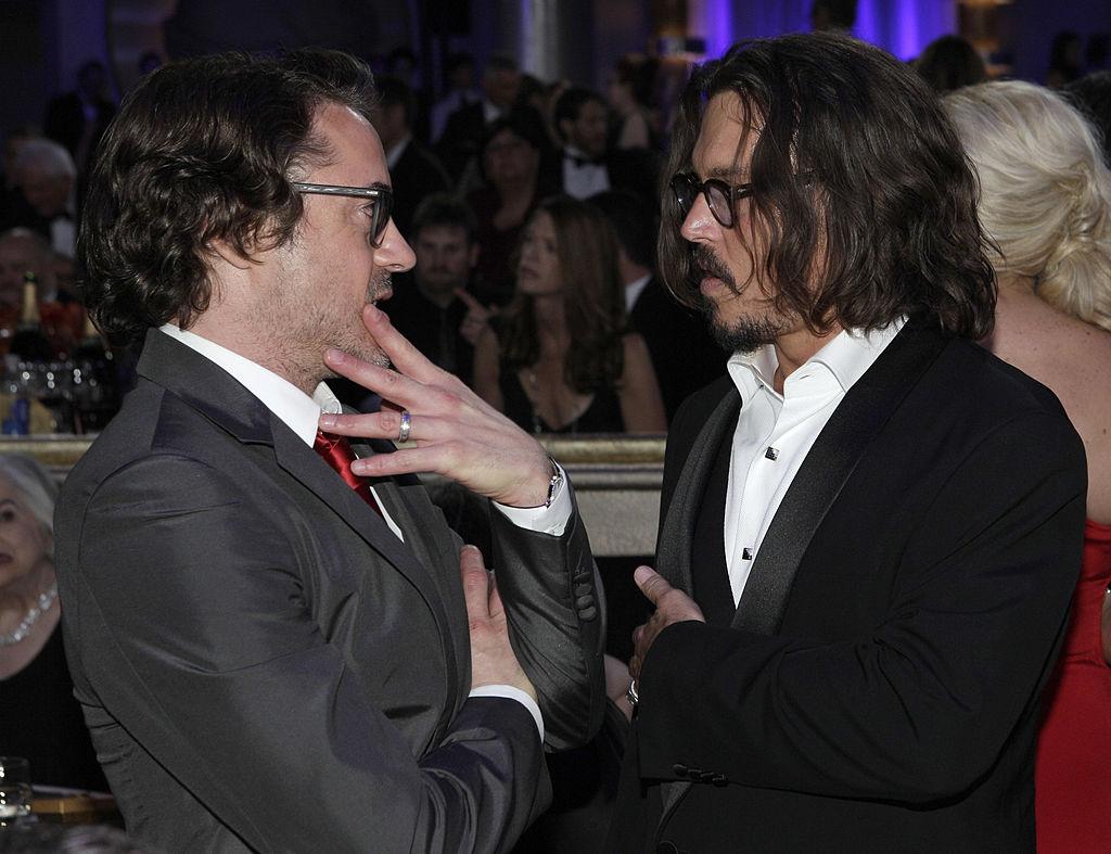 Robert Downey Jr. and Johnny Depp