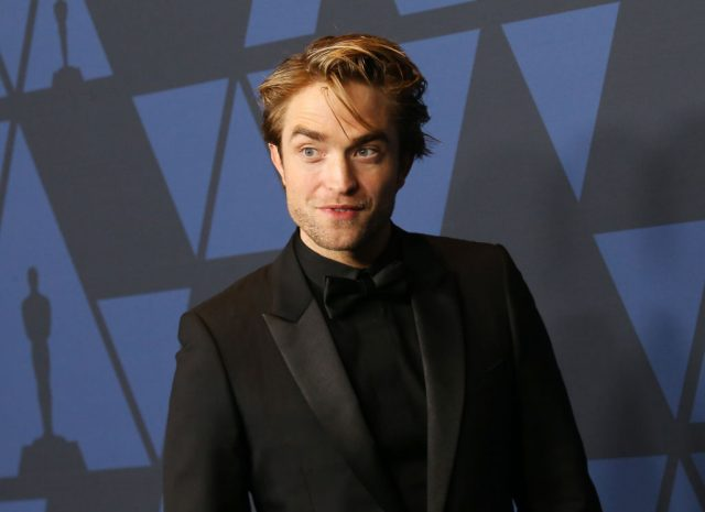 Robert Pattinson arrives to the Academy of Motion Picture Arts and Sciences' Governors Awards