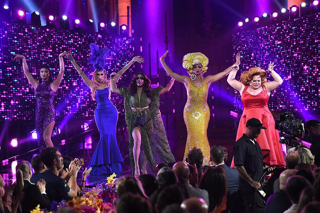 'RuPaul's Drag Race All-Stars' Tatiana, Alaska, Phi Phi O'Hara, Alyssa Edwards and Ginger Minj