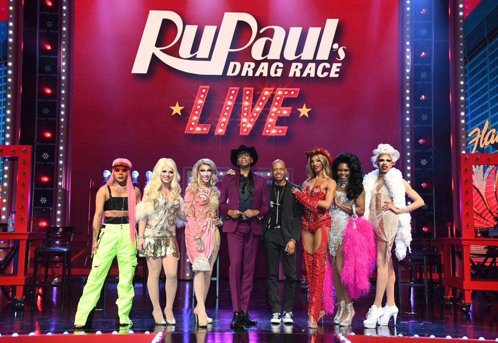 Cast members of 'RuPaul's Drag Race Live!'
