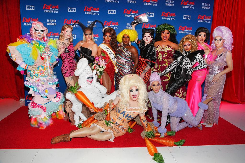 The contestants of 'RuPaul's Drag Race' season 12