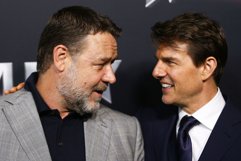 Russell Crowe and Tom Cruise | Brendon Thorne/Getty Images