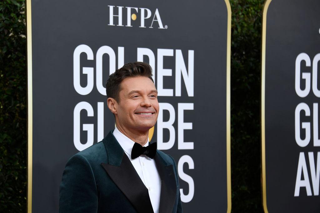 Ryan Seacrest arrives to the 77th Annual Golden Globe Awards