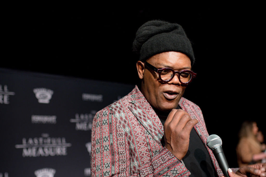 Samuel L. Jackson at an event in January 2020