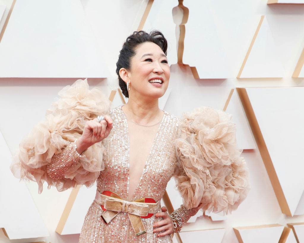 Sandra Oh at ABC's Coverage Of The 92nd Annual Academy Awards - Red Carpet