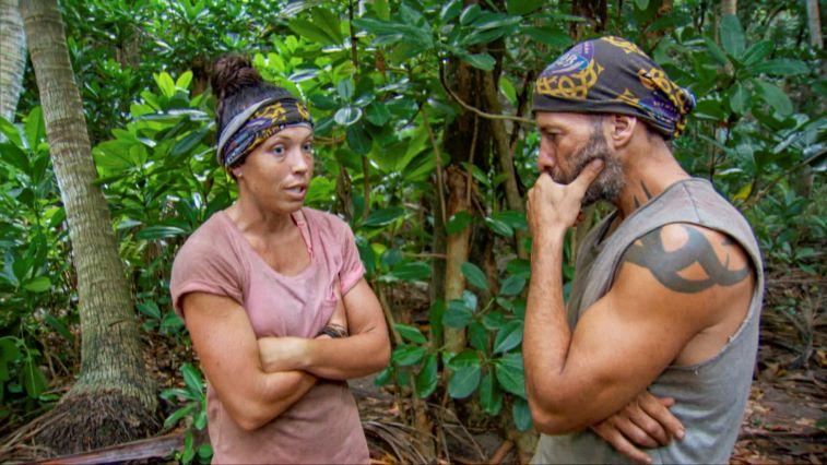 Sarah Lacina and Tony Vlachos on 'Survivor: Winners at War'