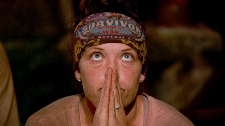 Sarah Lacina at Tribal Council