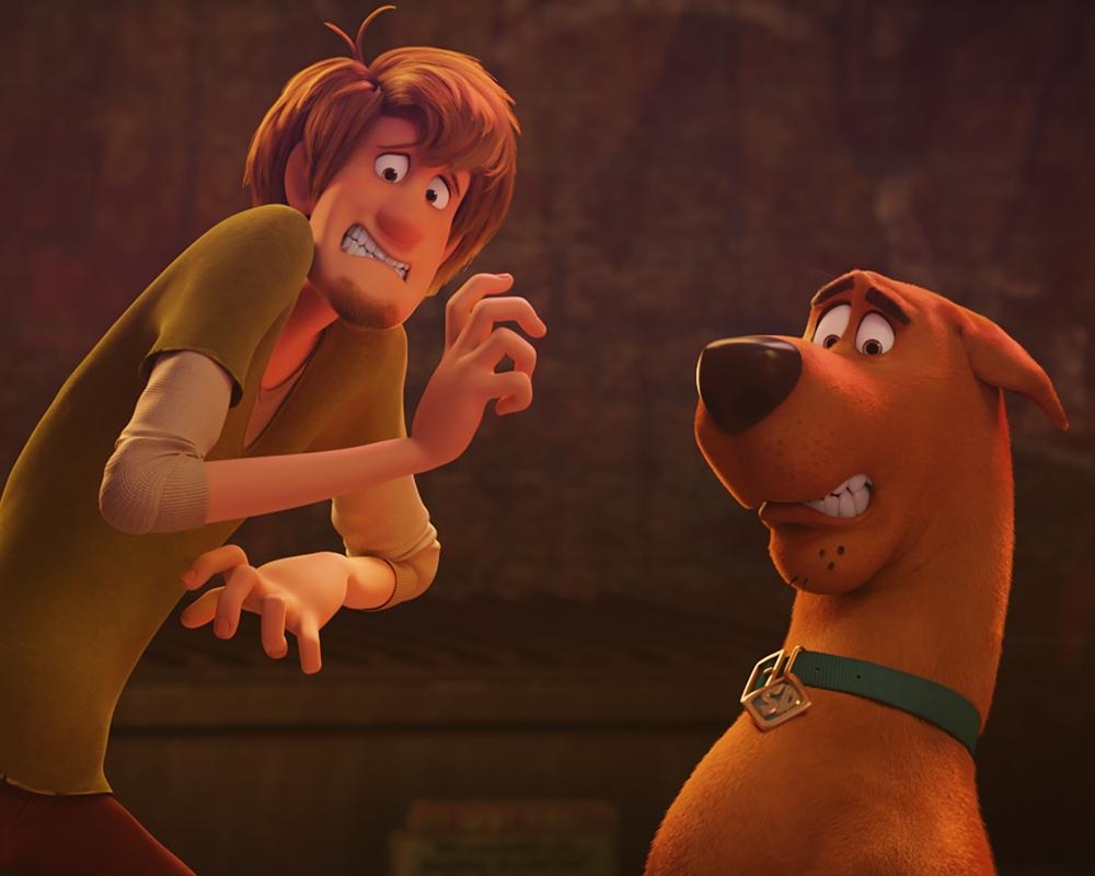 Scooby-Doo and Shaggy