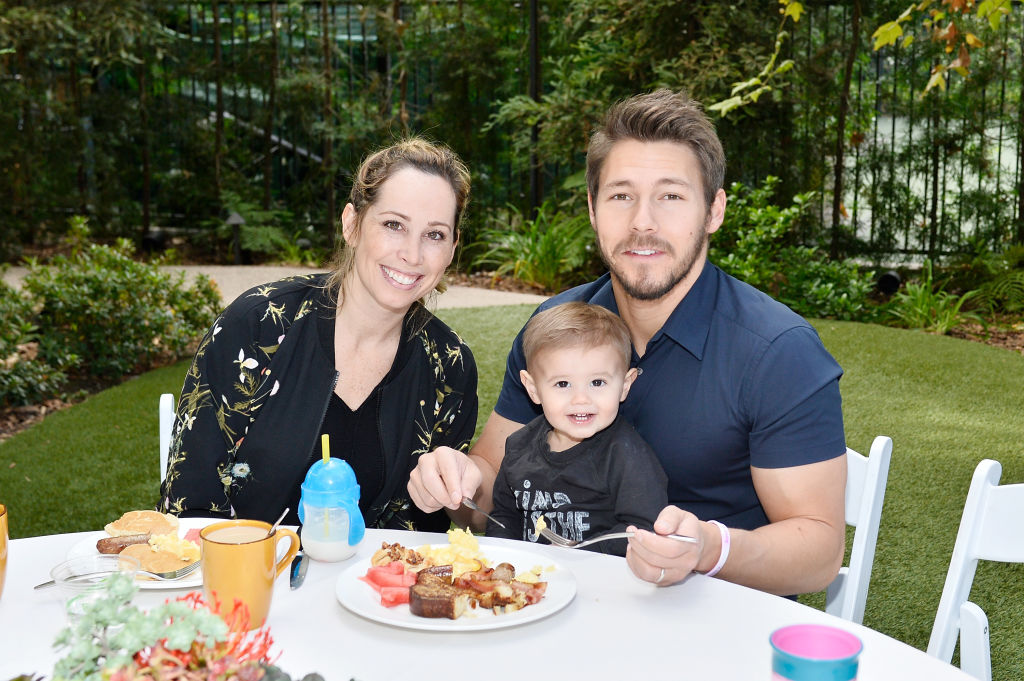 Scott Clifton and family