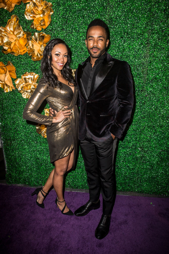 'The Young and the Restless' stars Mishael Morgan and Sean Dominic in 2020