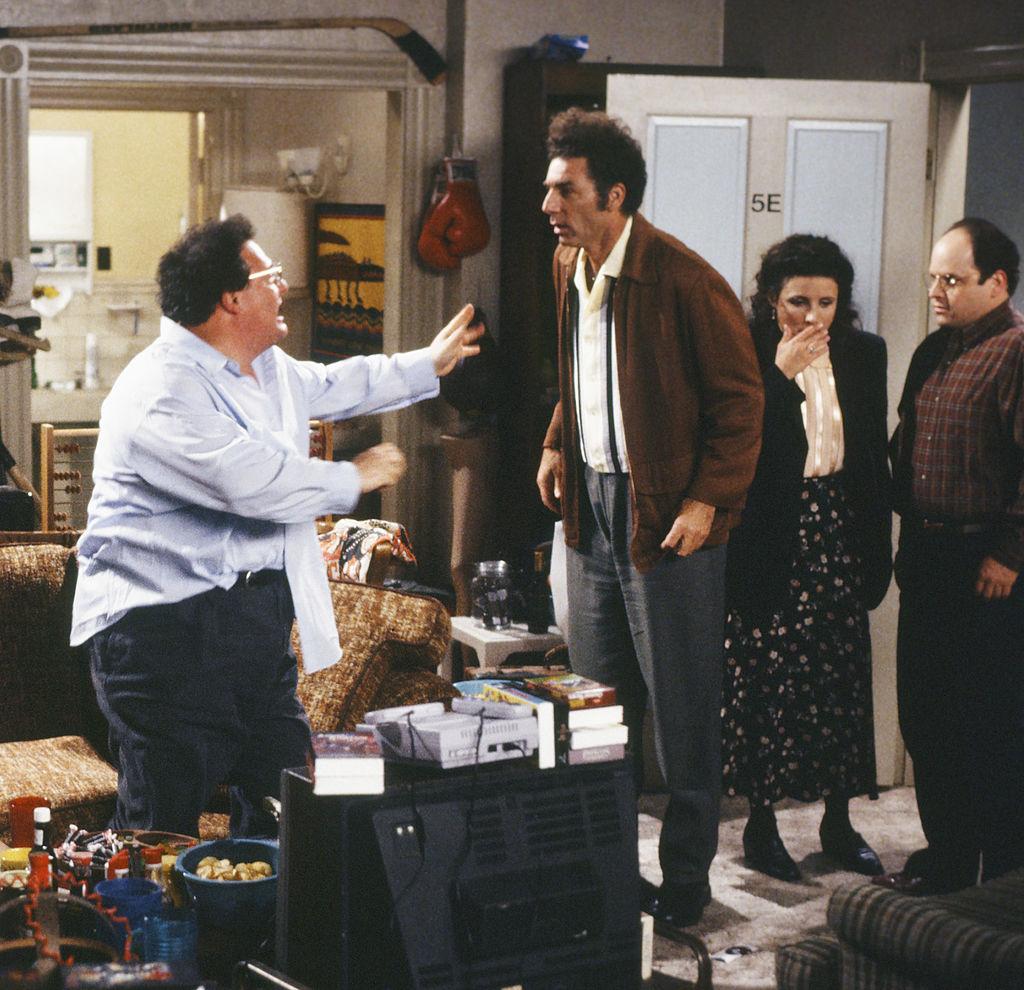 Michael Richards on Seinfeld