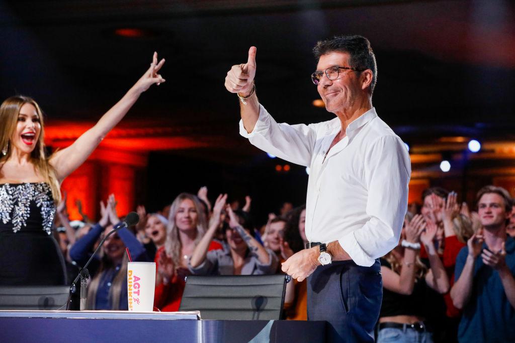 Sofia Vergara, Simon Cowell on 'America's Got Talent'