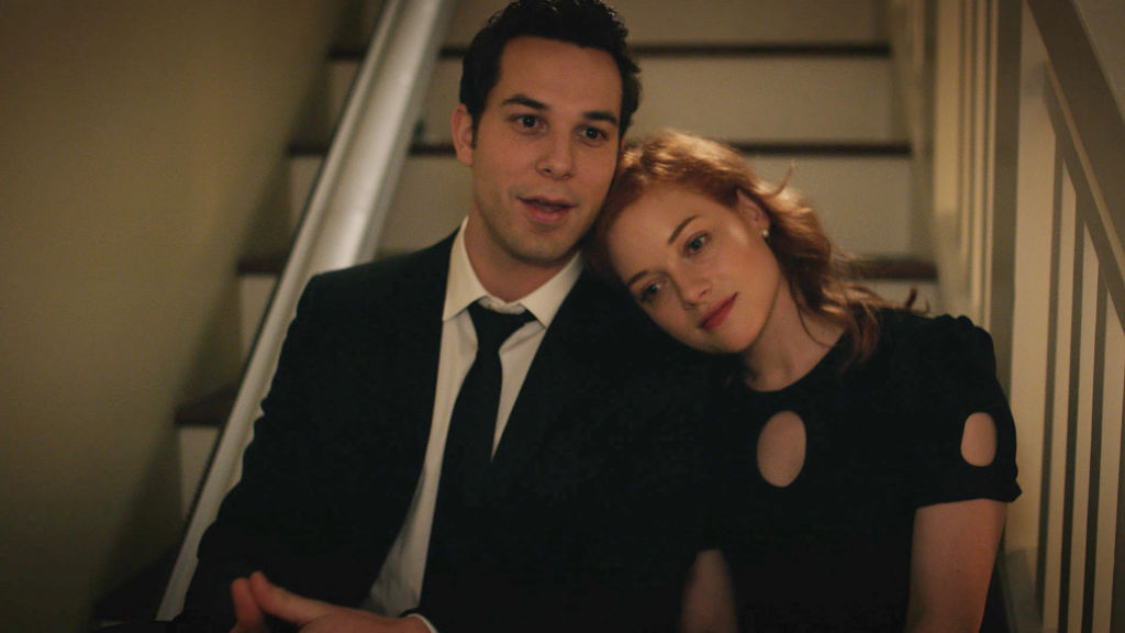 Skylar Astin as Max and Jane Levy as Zoey | NBC/NBCU Photo Bank via Getty Images