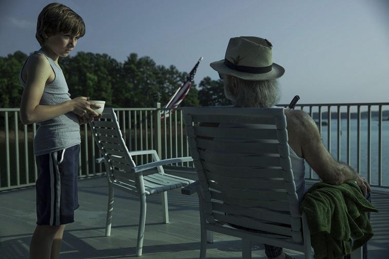 Skylar Gaertner as Jonah and Harris Yulin as Buddy in 'Ozark'
