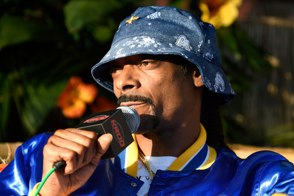 Snoop Dogg at an event in June 2019